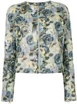 Diesel floral-print jacket