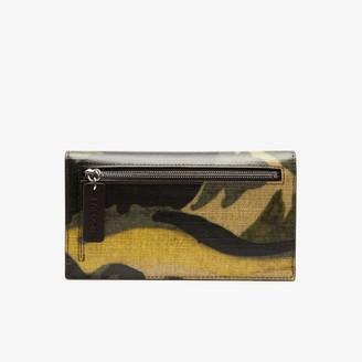 Lacoste Women's Robert George Coated Print Canvas Wallet