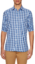 Hickey Freeman Checkered Sportshirt