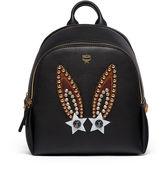 MCM Polke Backpack In Star Bunny Studs