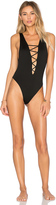 Indah Rainey Lace Up One Piece