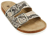 White Mountain Double Strap Slip-on Sandals - Helga