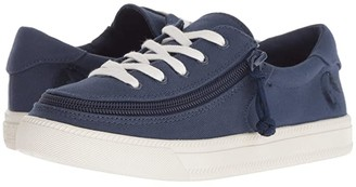 BILLY Footwear Kids Classic Lace Low (Toddler/Little Kid/Big Kid) (Navy) Kids Shoes