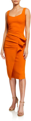Chiara Boni Majel Side-Shirred Tank Dress