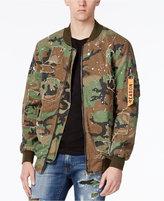 Reason Men's Splatter Bomber Jacket