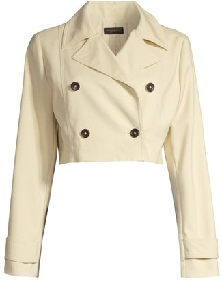 Donna Karan Double Breasted Short Jacket