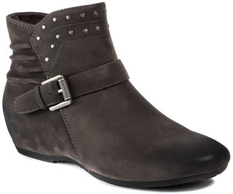 Bare Traps Peri Faux Shearling Lined Concealed Wedge Bootie