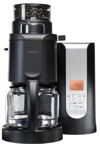 Krups KM7000A 10 cup Grind & coffee maker w/ conical burr grinder