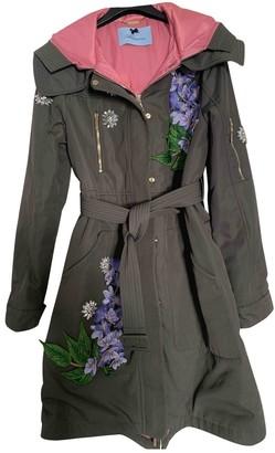 Blumarine Khaki Coat for Women