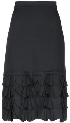 Rose' A Pois 3/4 length skirt