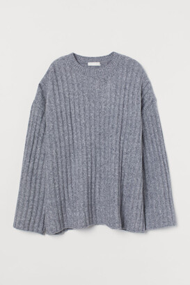 H&M Wool-blend ribbed jumper