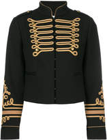 RED Valentino cropped band jacket
