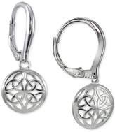Giani Bernini Openwork Disc Drop Earrings in Sterling Silver, Created for Macy's