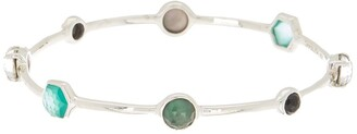 Ippolita Sterling Silver Rock Candy Mixed Stone Bangle Bracelet