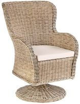 Pier 1 Imports Capella Island Sand Swivel Dining Chair