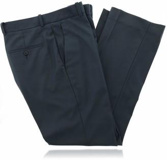 Perry Ellis Men's Stretch Textured Flat Front Dress Pant