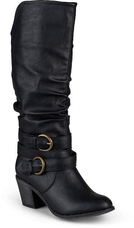 4dc07fe21 Wide Calf Black Platform Boots - ShopStyle