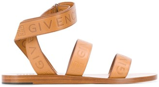 Givenchy Logo Strap Sandals