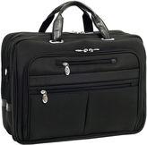 McKlein McKleinUSA Rockford 15.6 Nylon Fly-Through Checkpoint-Friendly Laptop Briefcase