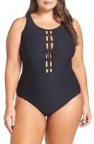 Plus Size Women's Amoressa Sonder One-Piece Swimsuit