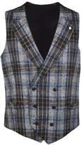 Luigi Bianchi Mantova Checkered Vest