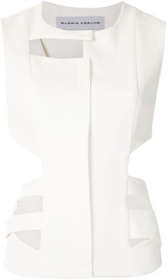 Gloria Coelho Cut Out Vest