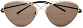 Prism Women's Brooklyn Sunglasses Gold/Rose Gold
