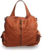 Co-Lab by Christopher Kon Cognac Washed Convertible Backpack