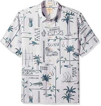 Quiksilver Waterman Men's All The Goods Button Down Shirt