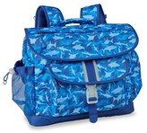 Bixbee Boy's 'Large Shark Camo' Water Resistant Backpack - Blue