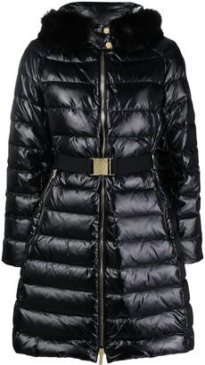 MICHAEL Michael Kors Belted Padded Coat