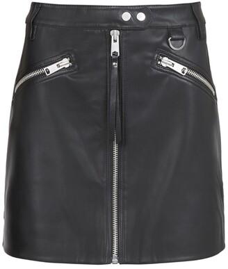 AllSaints Tarren Biker Mini Skirt