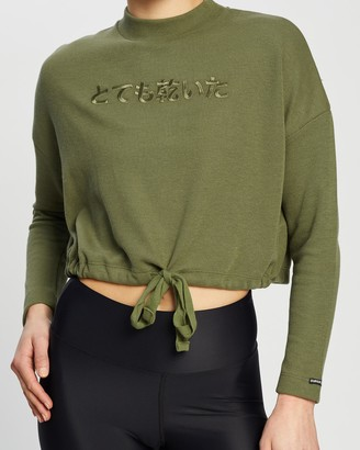 Superdry Valley Long Sleeve Graphic Top
