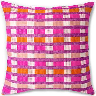 Bole Road Textiles Mursi 26x26 Pillow - Cerise