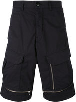 Stone Island Shadow Project - zipped deck shorts - men - Cotton/Spandex/Elastane - 50