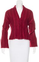 Piazza Sempione Mohair Long Sleeve Cardigan