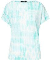 Ralph Lauren Petite Tie-Dye Linen Knit Top