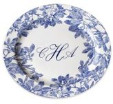 Caskata Personalized Arbor Blue Oval Platter