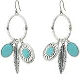 Lucky Brand Multi Charm Earrings