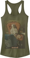 Unbranded Juniors' Dog Mood Painting Tank Top