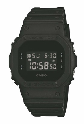Casio Men's G-Shock Digital Resin Strap Watch Black DW-5600BB-1ER