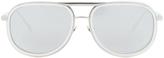 Linda Farrow Luxe Platinum Plated Sunglasses