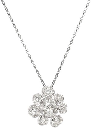 Annoushka 18kt white gold Marguerite diamond large necklace