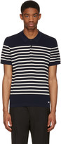 Burberry Navy Derham Polo
