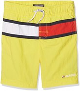 Tommy Hilfiger Boy's Ame Flag Swimshort Swim Shorts