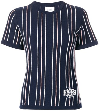Barrie Cashmere Striped Top
