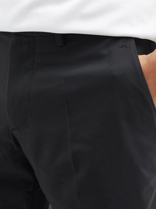 J. Lindeberg Somle Recycled-fibre Blend Golf Shorts - Black