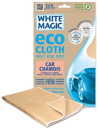 White Magic Eco Cloth Car Chamois