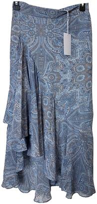 MISA Blue Skirt for Women