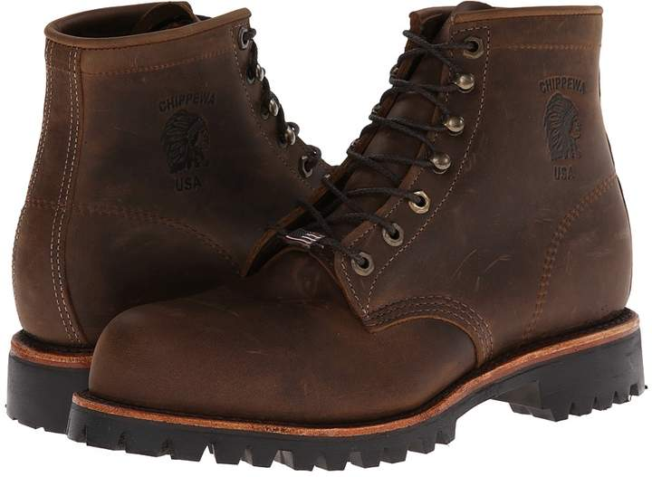 Chippewa Apache Steel Toe Lace Up Men's Boots